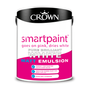 Crown Smart Paint Matt White 5l